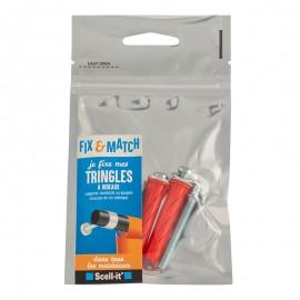 Fix&Match - Kit fixation tringles à rideaux